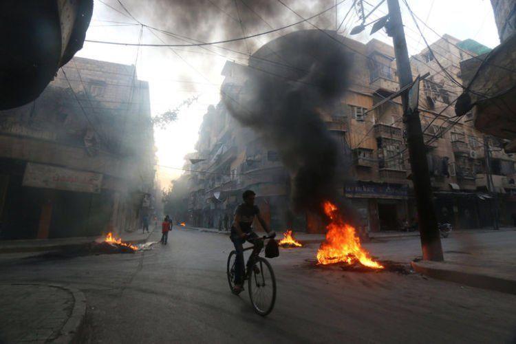Kondisi yang Aleppo yang menyedihkan.