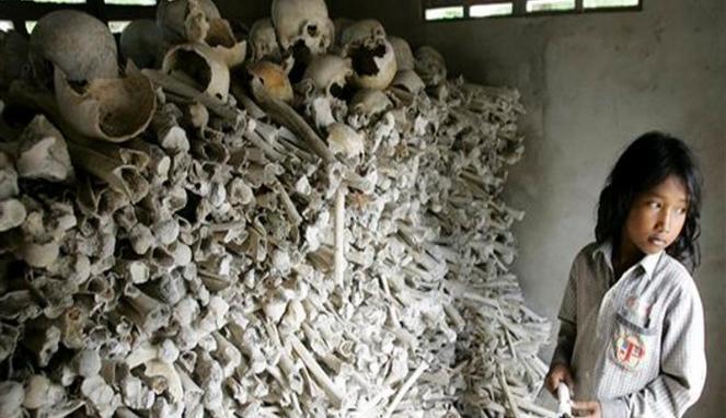 tulang korban eksekusi pol pot