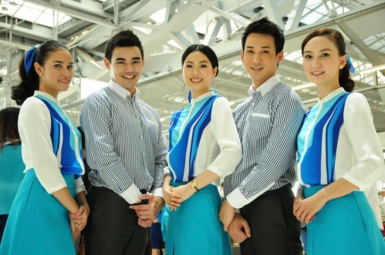pramugari bangkok airways