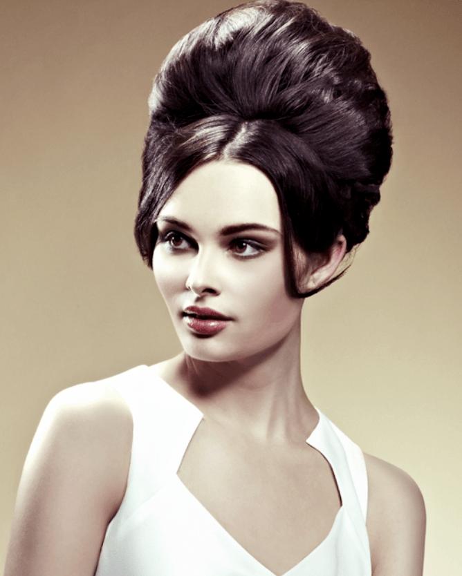 model rambut pompadour
