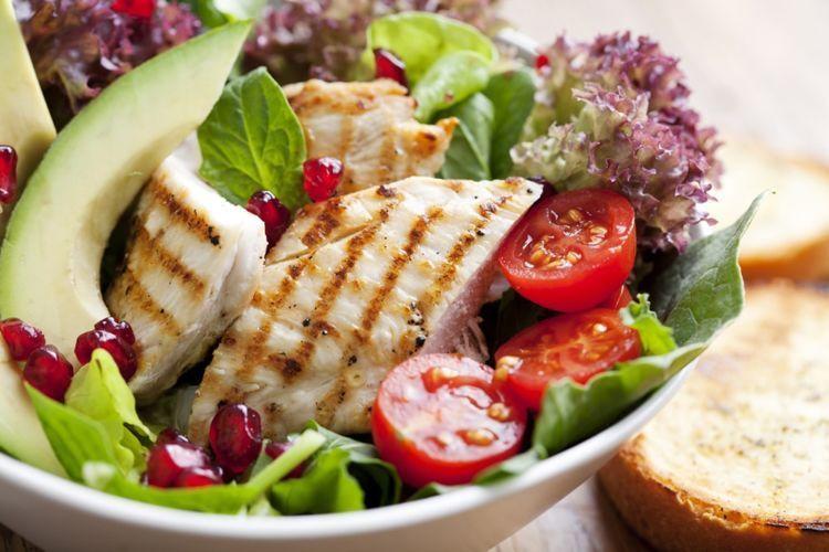 daging dan salad