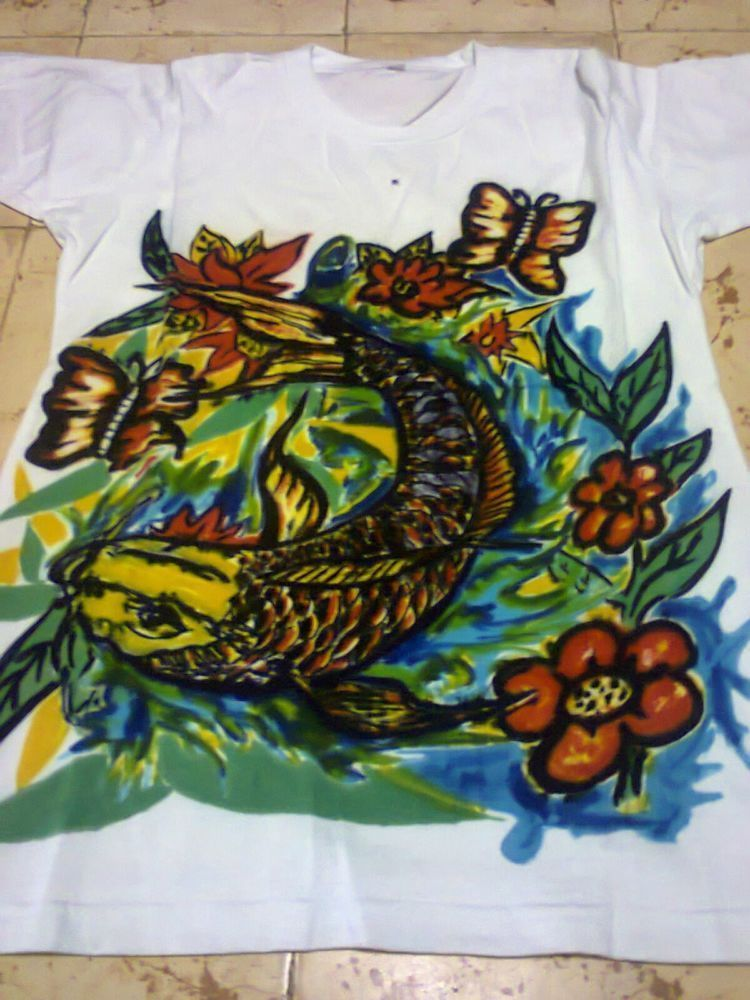 kaus lukis hewan dan tumbuhan
