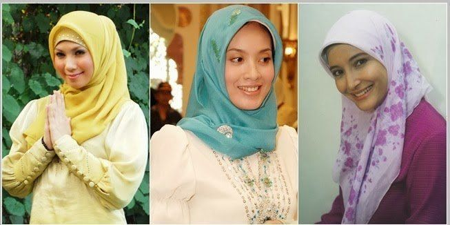 memakai jilbab dengan ciput