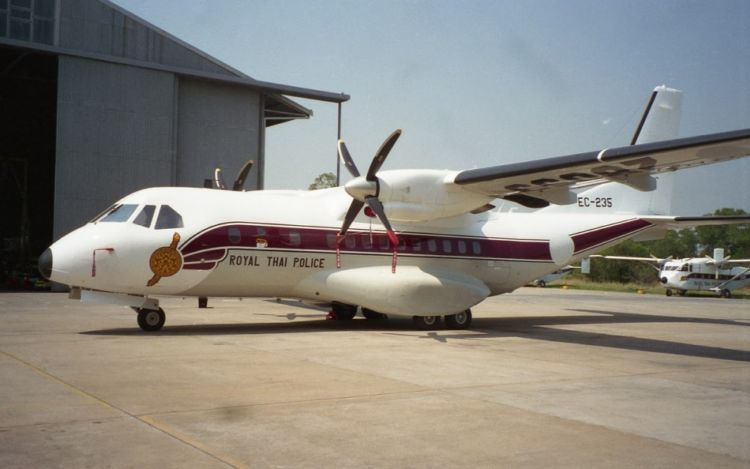 Pesawat Thailand ini buatan Indonesia lho