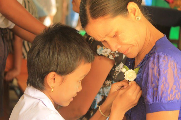 perayaan hari ibu di Thailand