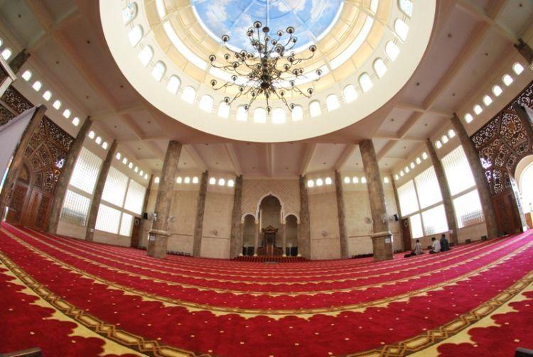 masjid mercubuana