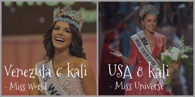 Ya memang baik Venezuela dan USA punya stok gadis yang cantik-cantik... Hehe