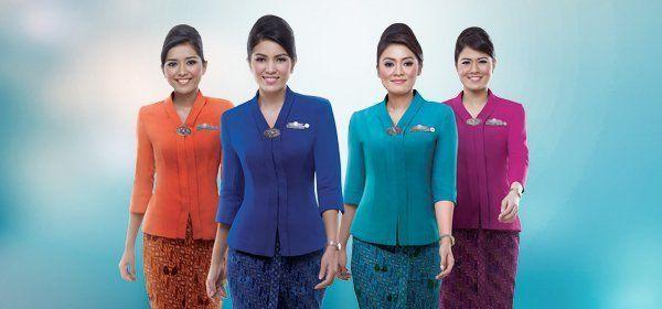 seragam pramugari garuda indonesia