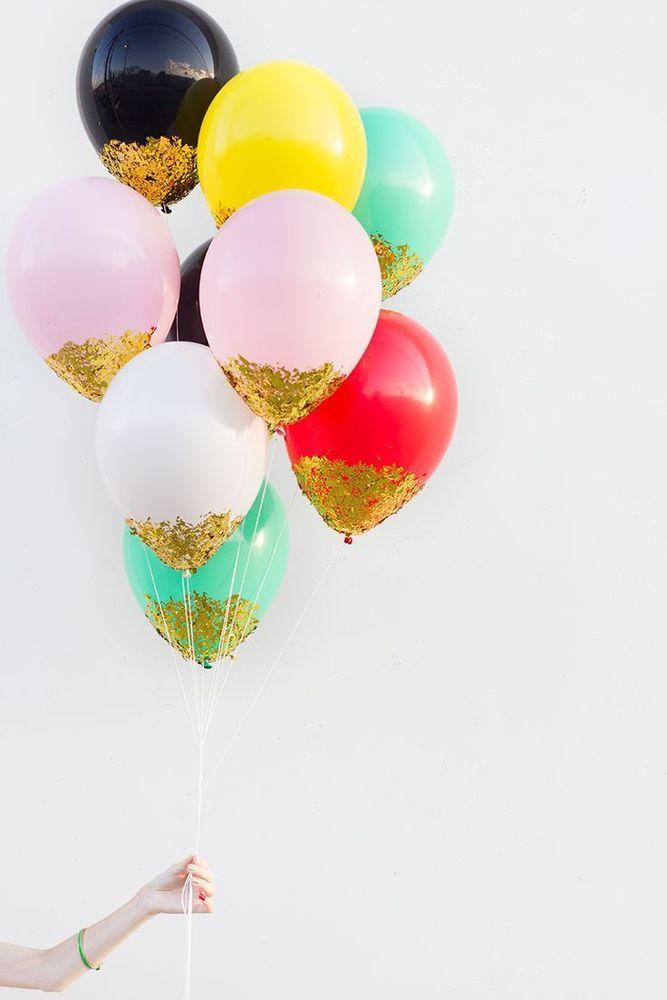 balon glitter