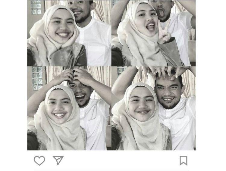 Postingan Fakhrul dengan seorang gadis