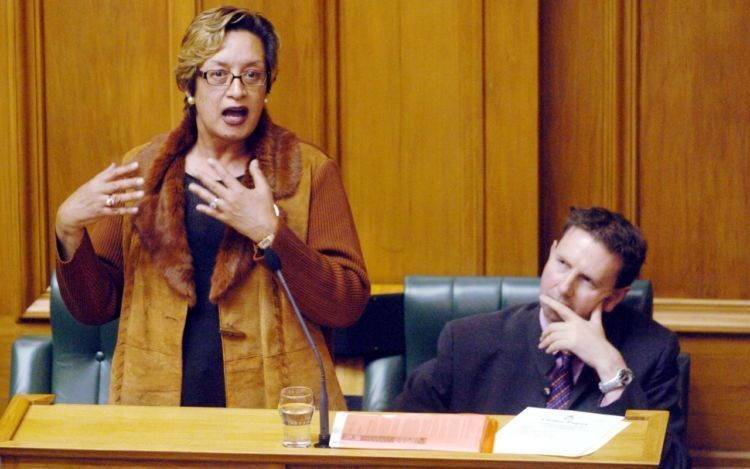 Georgina Beyer New Zealand MP