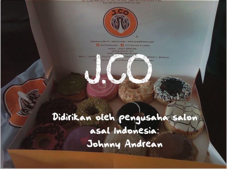 J.CO bukan perusahaan asal Amerika, melainkan Indonesia.