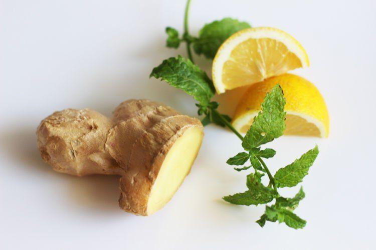 lemon & jahe