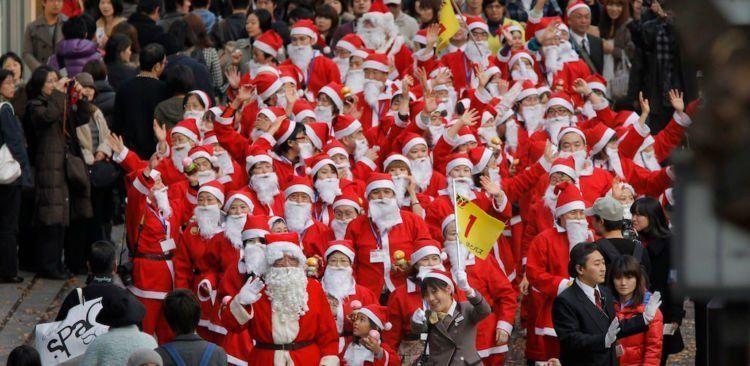 tidak ada tradisi resmi Natal di Jepang