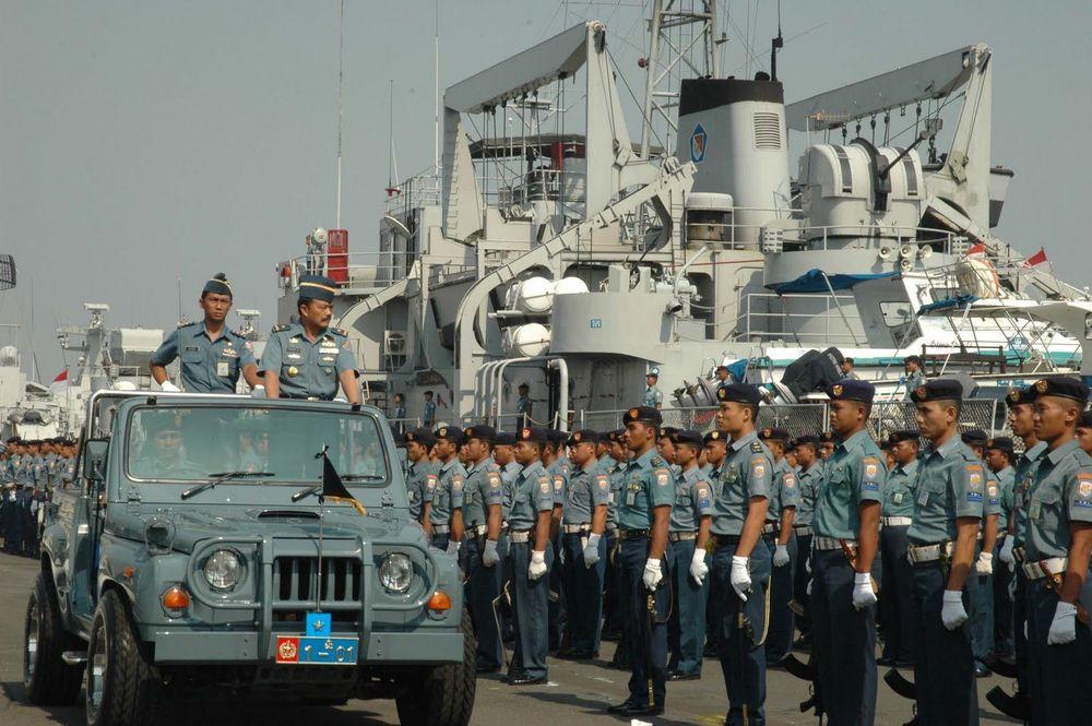 TNI AU yang menjaga kedaulatan negara di perairan