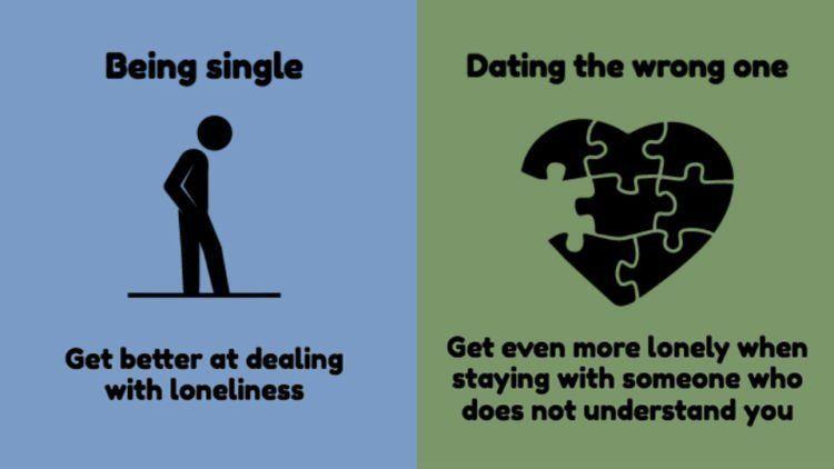 Bersama orang yang salah tak membuat kesepian terobati. Justru kamu semakin sepi karena tak dimengerti