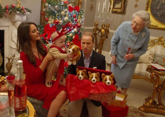 Natal keluarga Pangeran William