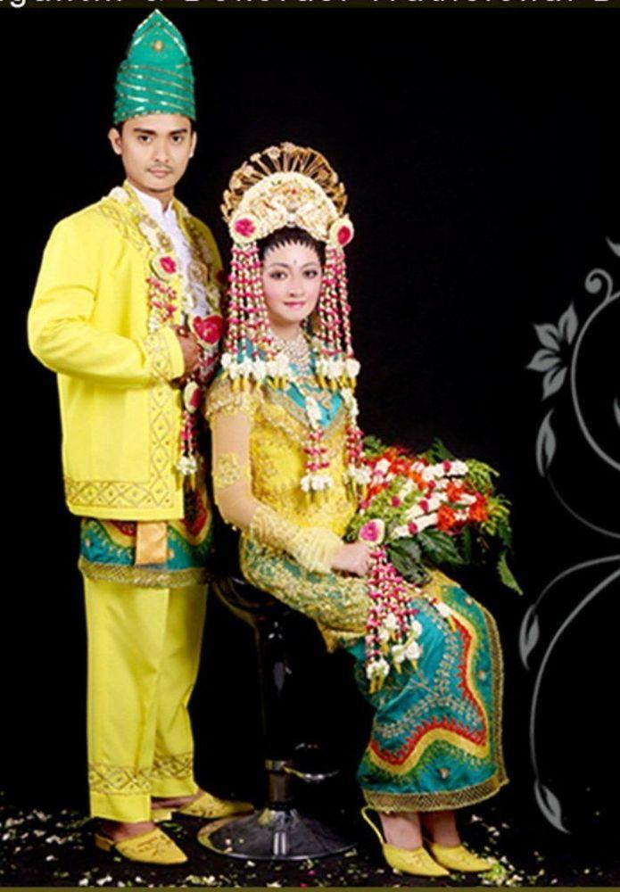busana pernikahan adat banjar
