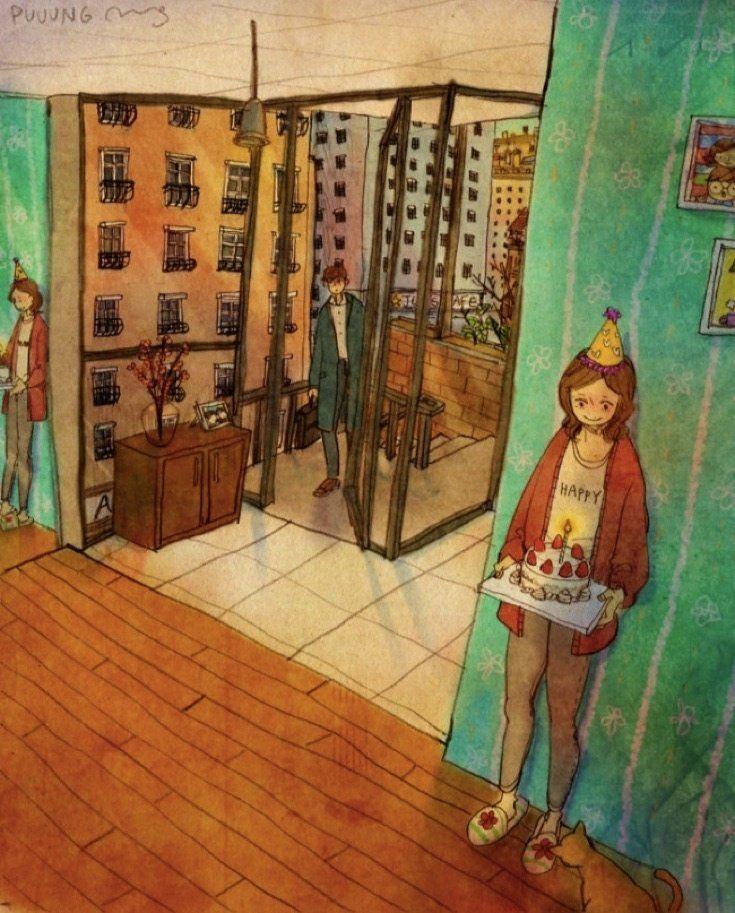 Ilustrasi dibuat oleh Puuung