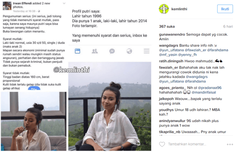 Ragam komentar netizen