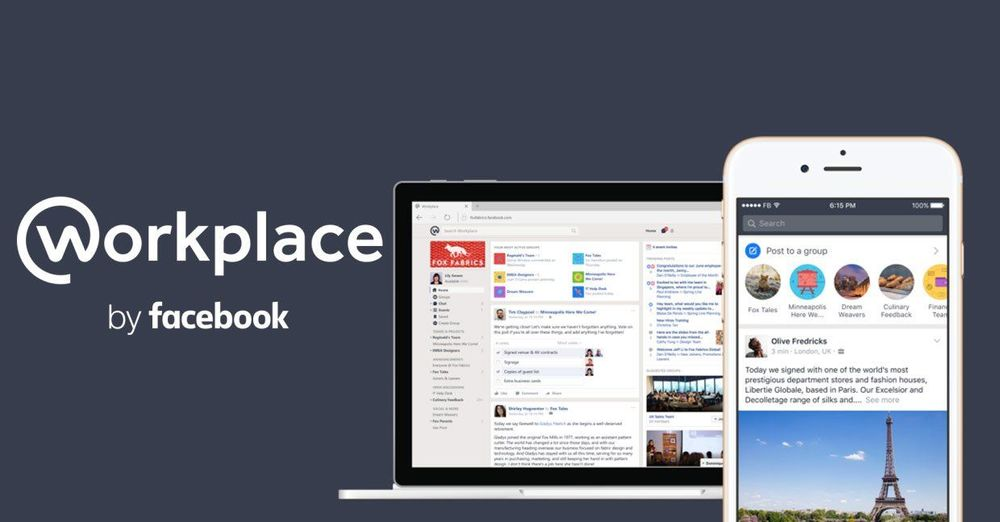 Workplace bekerjasama dengan facebook