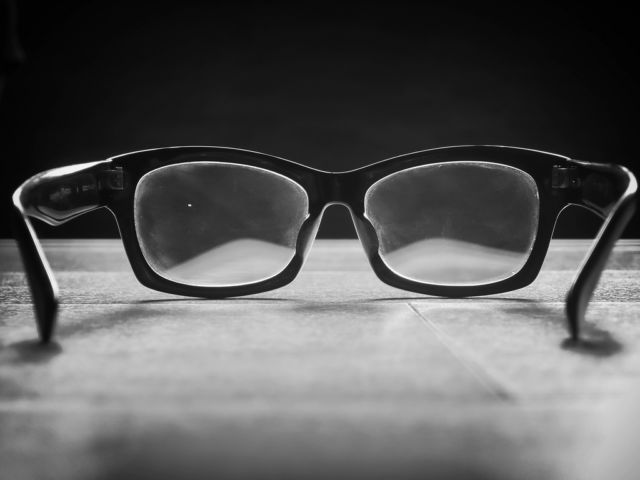 dirty glasses