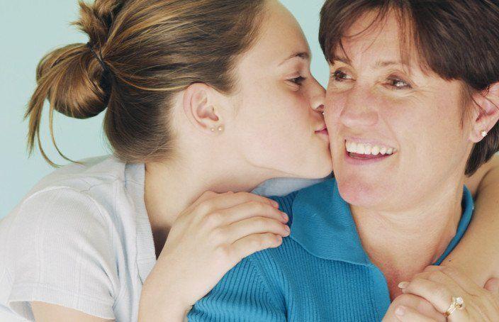 Melihat senyum orangtua