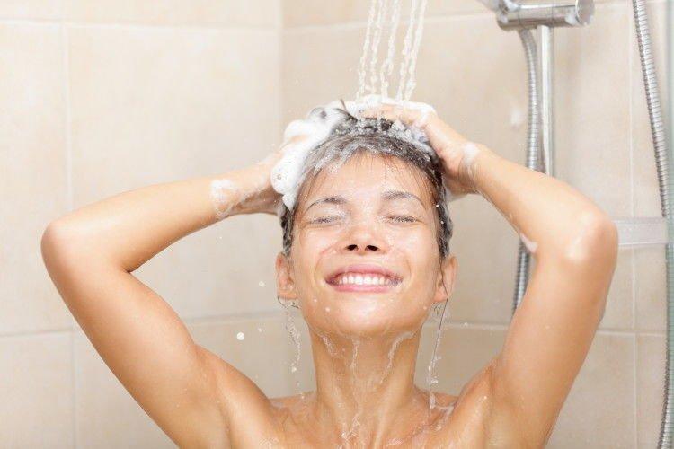 mandi secukupnya, sewajarnya