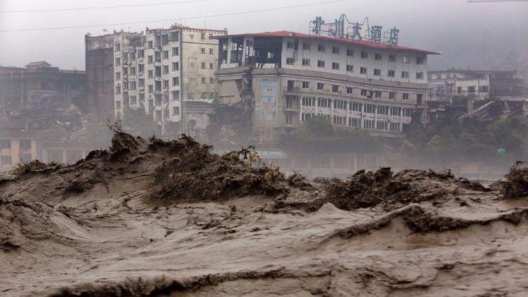 banjir besar beserta tanah longsor di provinsi Sichuan tahun 2013