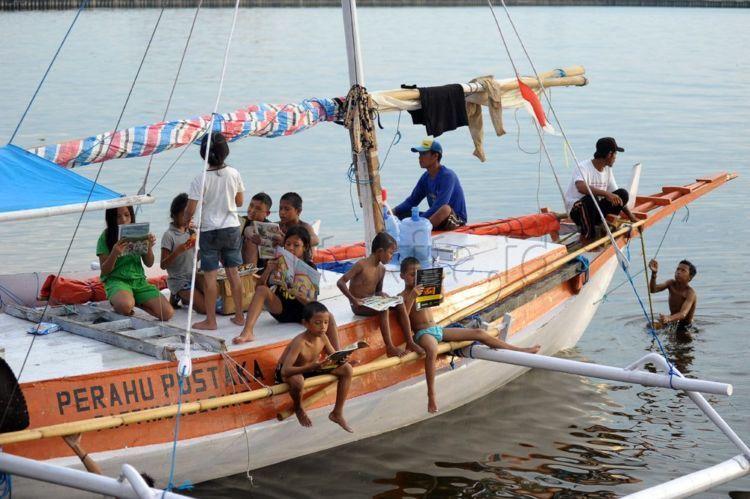perahu ajaib milik warga Sulawesi Barat