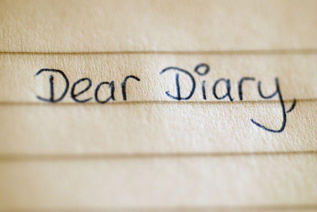 Diary untuk belajar menulis