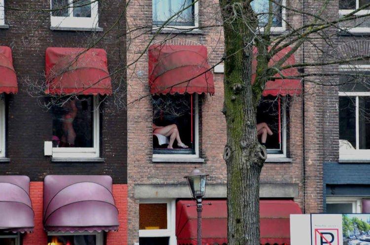 jendela PSK di Red Light District