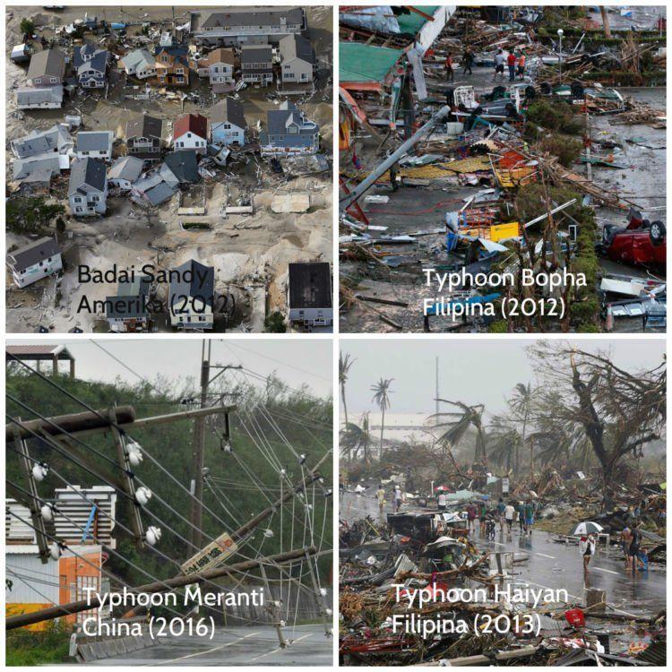 beberapa bencana besar yang terjadi 5 tahun terakhir