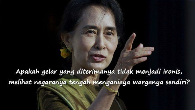 Aung San Suu Kyi dikritik habis-habisan atas sikap bungkap pemerintahannya menyangkut isu ini
