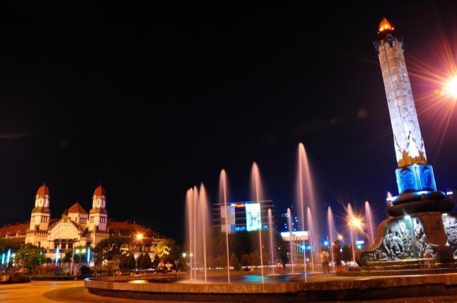 Semarang Di Malam Hari