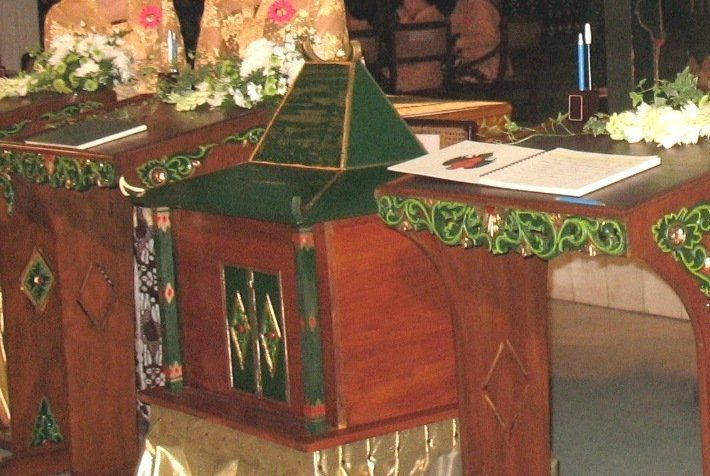 Kotak sumbangan pernikahan