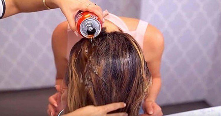 hilangkan semir rambut