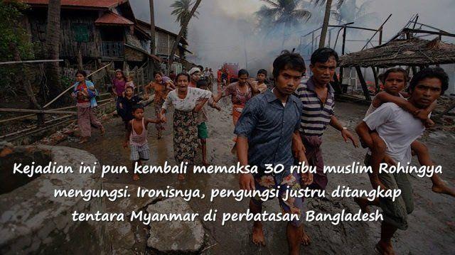 Myanmar menolak memberi kewarganegaraan pada etnis ini. Juni 2012 lalu, kerusuhan di Myanmar pun pecah