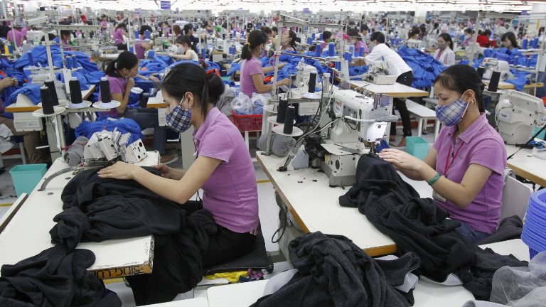 Buruh industri di Cina