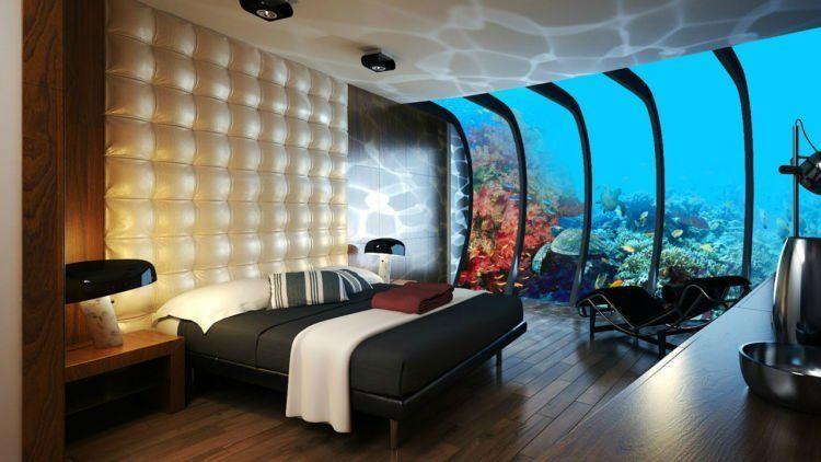 tidur bareng ikan di bawah laut :3