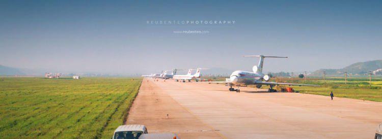 bandara internasional pyongyang