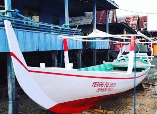 ini nih Perahu Pustaka edisi II