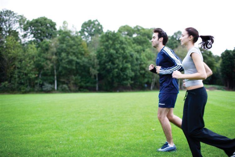 Jogging biar sehat!