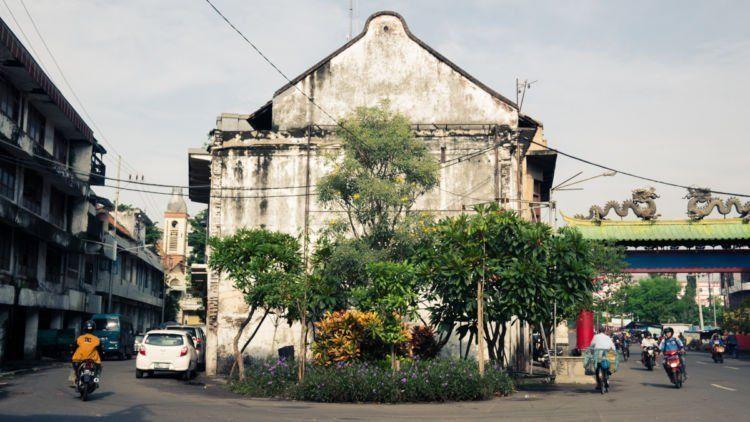 Pecinan tua di Surabaya