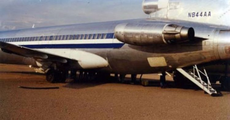 Pesawat N844AA sebelum dicuri