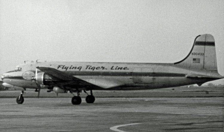 Flying tiger line
