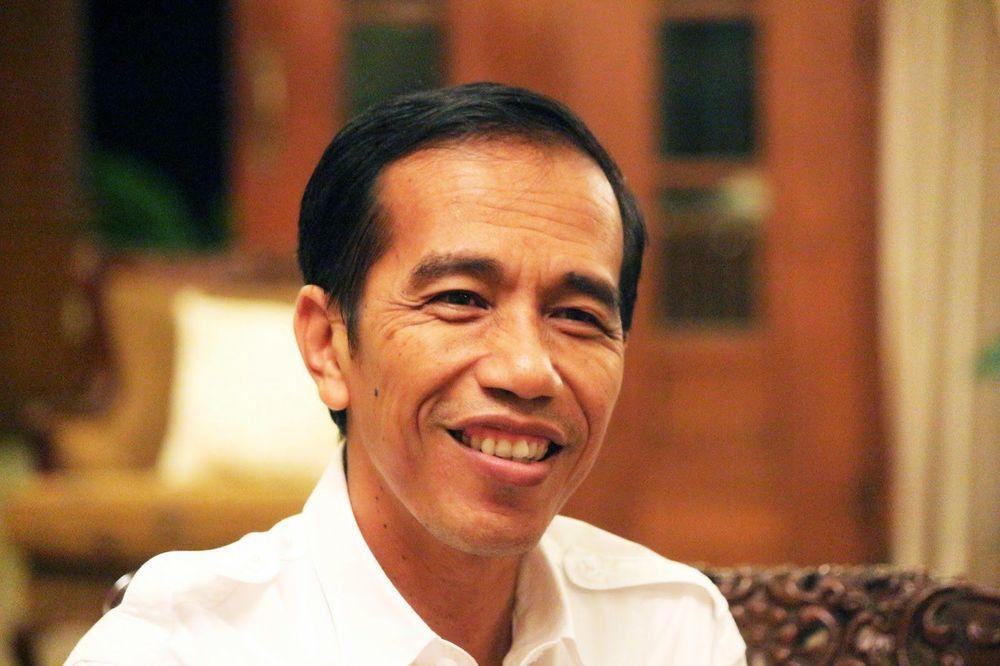 Gaya rambut Jokowi
