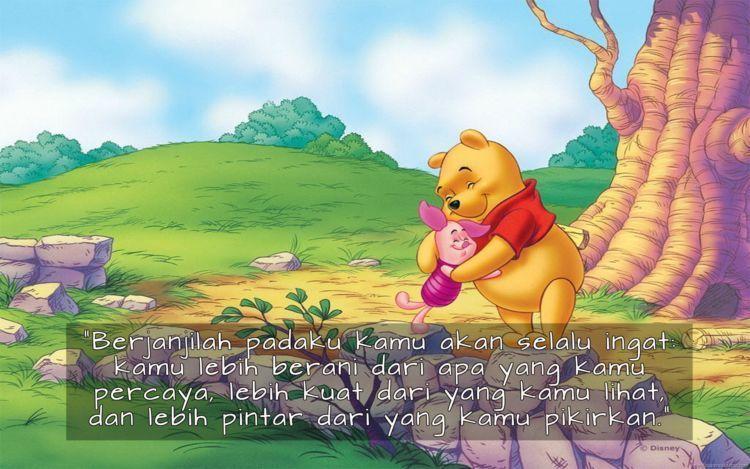 quotes winnie the pooh ini membuktikan dia tidak hanya imut