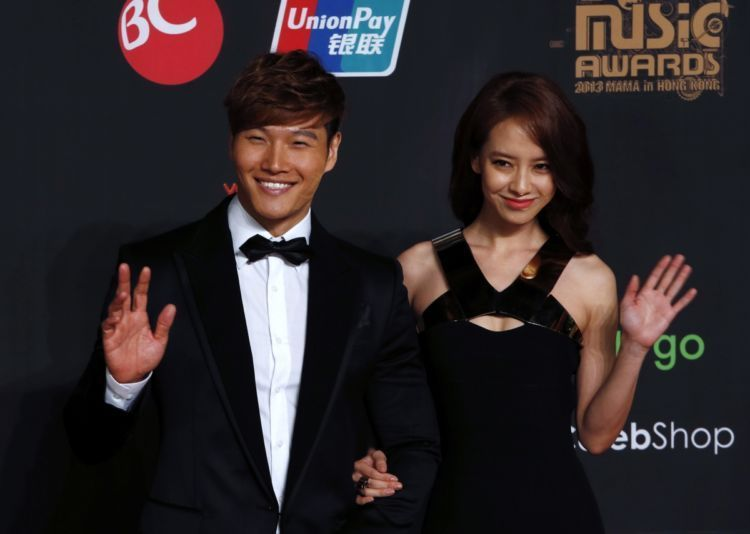 Song Ji Hyo dan Kim Jong Kook