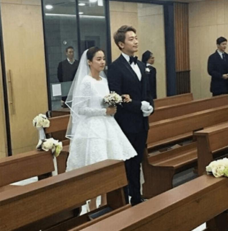 Kisah cinta Kim Tae Hee dan Rain